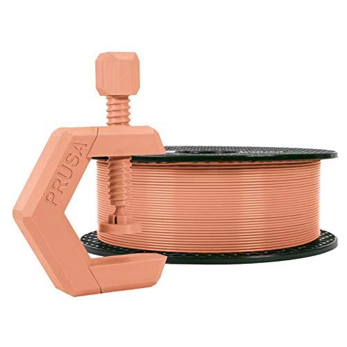 Prusament PETG Terracotta Light Filament 1.75mm 1kg Spool (2.2 lbs), Diameter Tolerance +/- 0.02mm