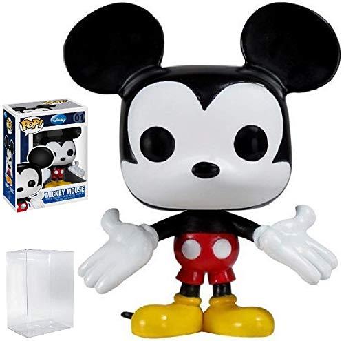 Funko Pop! Disney: Figura de vinilo de Mickey Mouse (con funda protectora de caja)