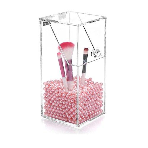 Acrylique Transparent Maquillage Brosse Organiseur à la poussière Acrylique Porte Brosse Cosmétique en Acrylique Brosse Box par Sunsang