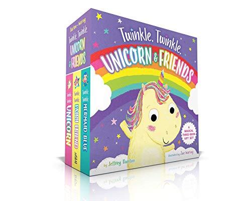The Twinkle, Twinkle, Unicorn & Friends Collection: Twinkle, Twinkle, Unicorn; Twinkle, Twinkle, Fairy Friend; Twinkle, Twinkle, Mermaid Blue