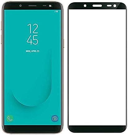 Película de Vidro 3D Samsung Galaxy J8 2018 Tela Toda, Cell Case, Película de Vidro Protetora de Tela para Celular, Preto