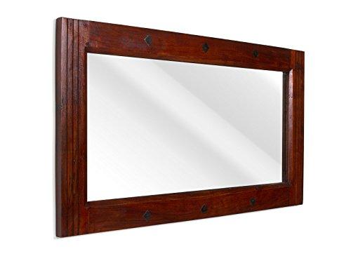 massivum Spiegel Texas 110x60x3 cm Palisander braun lackiert