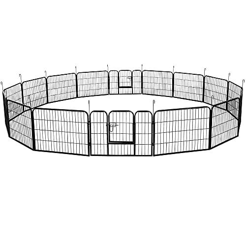 5. Yaheetech Heavy Duty Foldable Metal Pet Fence
