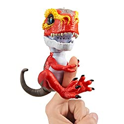 2. WowWee Untamed T-Rex Ripsaw (Red) by Fingerlings
