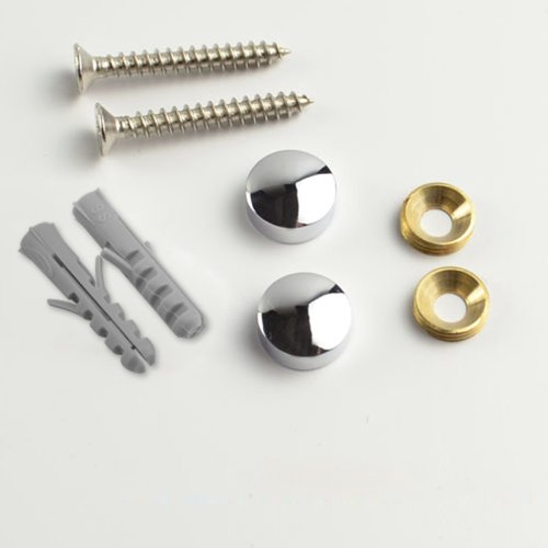 KES Bathroom Solid Brass Hook Rail/Rack with 2 Hooks Wall Mount Polished Chrome, A1060H2