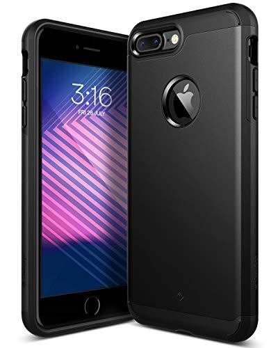 Caseology Legion for Apple iPhone 7 Plus Case (2016) - Dual-Layer Armor - Matte Black