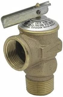 Cash Acme 14917-0075 Pressure Relief Valve, Bronze