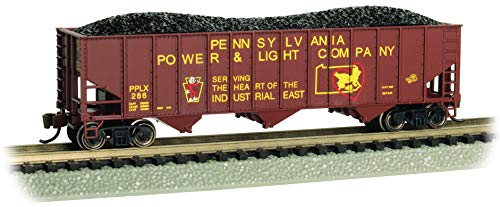Bachmann Trains - Bethlehem Steel 100-TON 3-Bay Hopper - Pennsylvania Power and Light #286 - N Scale -  18755