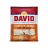 DAVID SEEDS Roasted and Salted Pumpkin Seeds, 5 oz, Keto Friendly, 12 Pack...
