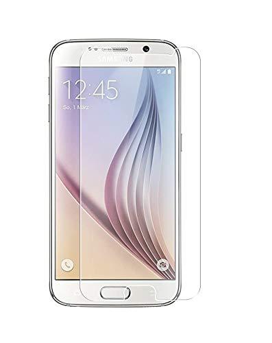 WEOFUN [2 Pièces] Verre Trempé Samsung Galaxy S6, Film Protection pour Samsung Galaxy S6 (SM-G920) Protecteur d'écran (0.33mm, 9H, Anti-Rayure, Ultra Transparent)