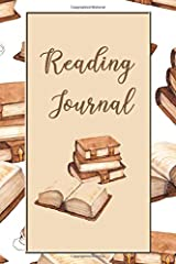 Reading Journal: 6 x 9 ~ 100 pages Paperback