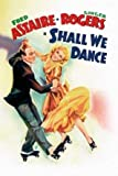 Shall WE Dance – Fred Astaire – Film Poster Plakat