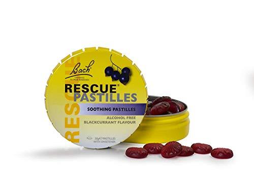 Rescue Calmante De Grosella Negra Pastillas 50g (Paquete de 2)