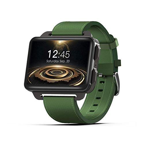 OH Smart Watch, Pantalla Grande de Alta Definición de Ips de 2.2 Pulgadas, Inforión Push Bluetooth Connection Videollame Telefónica 3G Pulsera Inteligente, Tarjeta Sim Sim, para And