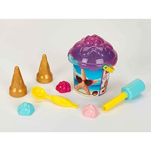 Theo Klein 2359 2359-Aqua Action ijsblok, zandemmer 1 liter, speelgoed, Made in Germany, multicolor