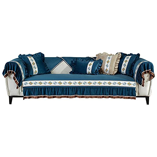 KIKIGO Funda protectora de poliuretano para sofá, funda de sofá, funda para sofá, funda de sofá, funda suave para sofá, funda de sofá de 160 cm + sofá silla