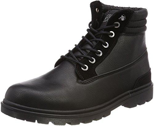 Urban Classics Herren Winter Chukka Boots Schwarz Black, 47 EU