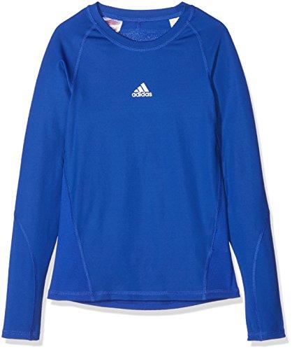 adidas Kinder Alphaskin Longsleeve Funktions Shirt, Bold Blue, 140