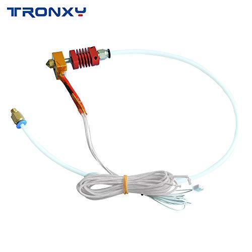 TRONXY MK8 - Kit de extrusión para impresora 3D XY-3 con bloque de calefacción de aluminio, boquilla de 1,75 mm, kit de extrusión Bowden