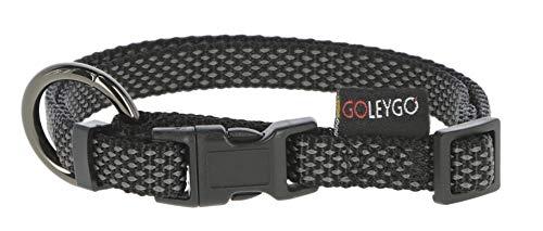 GoLeyGo 2.0 Set Führleine + Halsband schwarz Länge 140-200 cm 87018