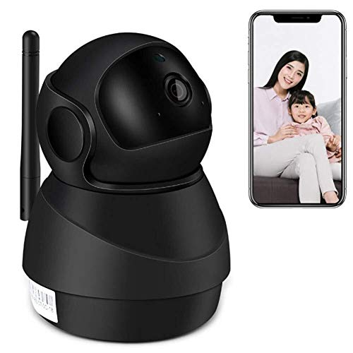 Draadloze camera, wifi remote 1080P HD met nachtzicht, 2-weg audio, Motion Tracker, for Huis Surveillance Hond/Dier/Baby/Elder/Nanny computer camera,clmaths