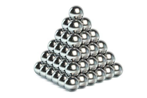 myHodo Bolas Magnéticas Antiestrés, Bolitas Magnéticas Versátiles, Imanes Pequeños, Magnet Balls, Gran Idea de Regalo, Bolas de Iman, Imanes para Superficies Magnéticas (64 Piezas, Plata)