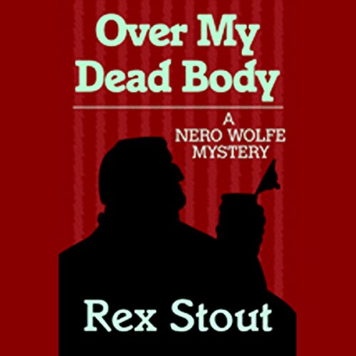 Over My Dead Body audiobook cover art