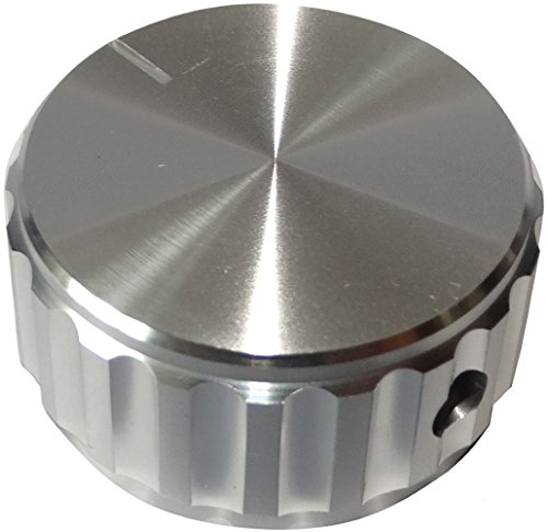 AERZETIX: Botón para potenciómetro de Eje Lisa 6.35mm Ø