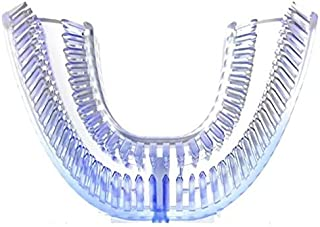 Toothbrush Replacement Brush Heads Refill U Type Toothbrush Head V White Toothbrush Replace Head U-Shape Silicone Head