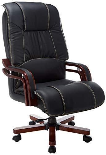 Halter Fully Assembled Ergonomic Reclining PU Leather Executive Adjustable Lumbar Support and Tilt Tension – Zero Back Pain-46.5' X 2 Office Chair, Multi