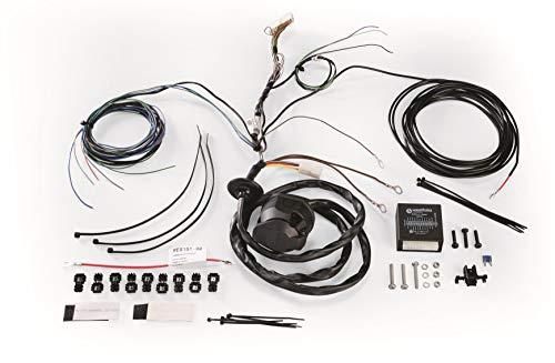 Westfalia 300210300113 Universal-Elektrosatz Anhängerkupplungen, für Anhängerkupplungen, 13-polig, für Fahrzeuge mit Checkcontrol-System