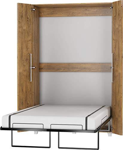 Moderne, Compact Lit Escamotable, Lit Rabattable, Lit Mural - TEDDY -