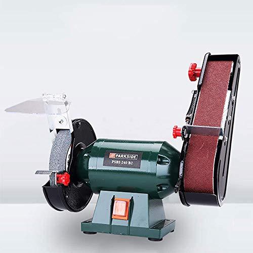 MOZUSA Multi-Function Electric Bench Belt Sander Tool Grinding Machine Abrasive Finishing Machine Knife Sharpener Tools