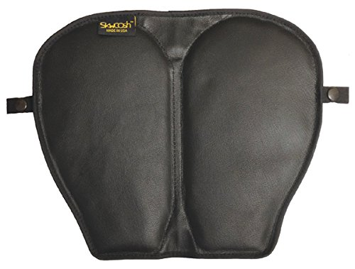 Skwoosh 27402 Black Seat and Pillion Pads For All Model