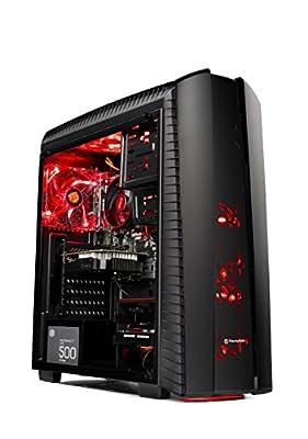 [GAMER'S CHOICE] SkyTech Archangel II Gaming Computer Desktop PC AMD Ryzen 5 1400,GTX 1050 TI 4GB, 1TB HDD,16 GB DDR4, WINDOWS 10 Home