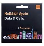 Tarjeta SIM Prepago Orange con 40 GB en España, 50 Minutos internacionales, activación Solo en www.marcopolomobile.com