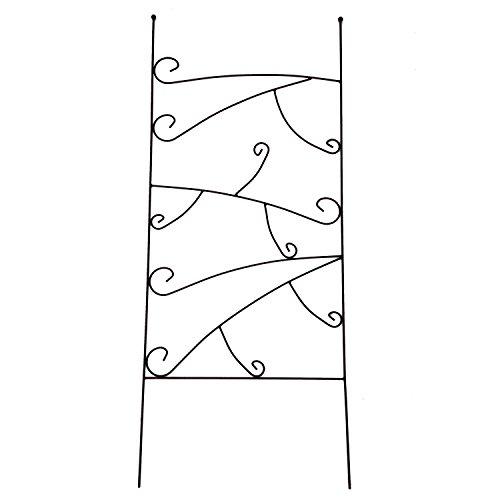 1. GO Metal Garden Trellis Panel for Climbing Plants, 19' Wide x 48' High, OG-0013
