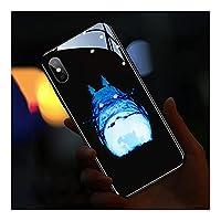 着信光るiphone12 用ケース IPhone11por 発光電話ケース 耐衝撃性 クールな質感 7色の光 Ledフラッシュ Iphone12mini 用ケース Iphone 7 用ケース スマホ 落下防止 着信光るiphone11 用ケース 擦り傷防止 指紋防止 ワイヤレス充電対応,C-iphone 12mini