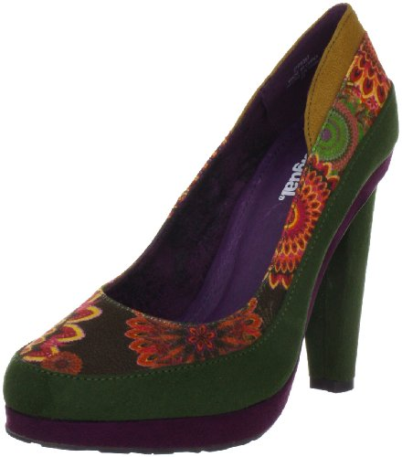 Desigual Damen Shoe Melbourne Pumps, Orange (Naranja Tierra 7015), 37