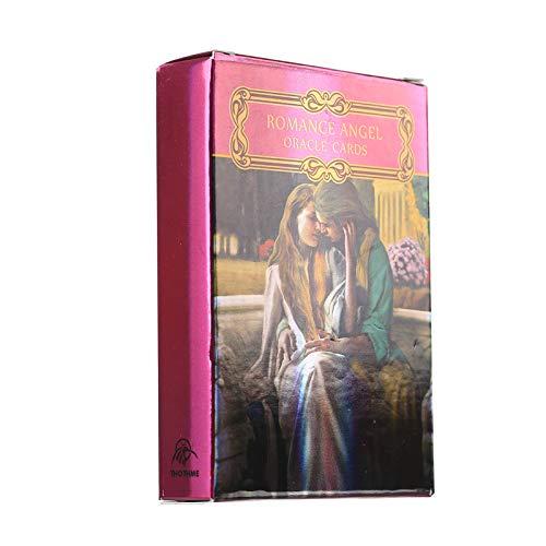 LGH Romantische Angel-Oracle-Karten, geeignet für Familien und Freunde, die Tarotkarten sammeln und für Anfänger eingestellt Werden