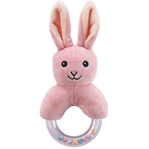 Kids Concept bébés et première infanciasonajeros et créoles de peluchekids conceptrattle Edvin Rabbit Multicolore (1)