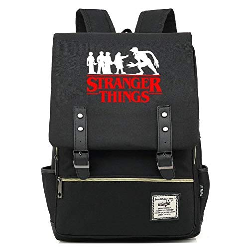 Stranger Things Students Daily Backpack New Casual Style Back to College Rucksack Men Women Teens (1)