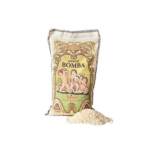La Perla – Arroz Bomba para paella denominación de origen arroz de Valencia, 1 kg