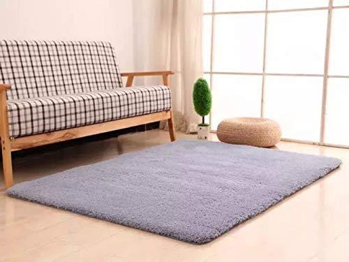 Catalpa Blume Teppich in 60cm*90cm Hochflor Shaggy Teppiche Langflor Wohnzimmer Pflegeleicht