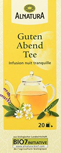 Alnatura Bio Guten Abend Tee, 20 Beutel, 30 g