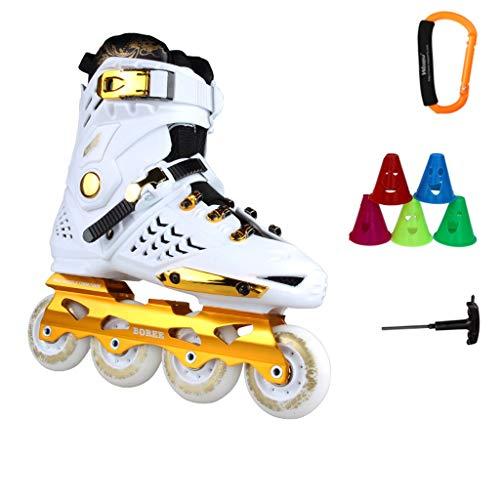 HHYK Erwachsene Herren Damen Inline Skating Schuhe, Anfänger Rollschuhe, Professionelle einreihige Skating-Schuhe (Farbe: #2, Größe: EU 37/US 5/UK 4/JP 23,5 cm)