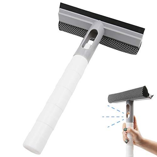 Dee Plus lavavetri auto Spazzola Lavavetri Spray Kit,2019 ultima di alta qualità strumento di pulizia a doppia faccia Per vetri auto vetro, casa, ufficio, pulizia del pavimento,Custodia regalo