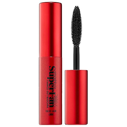 smashbox Super Fan Fanned-out Mascara - False Lash Look Inhalt: 5ml Mini-Mascara Travelsize Wimperntusche für die Handtasche.