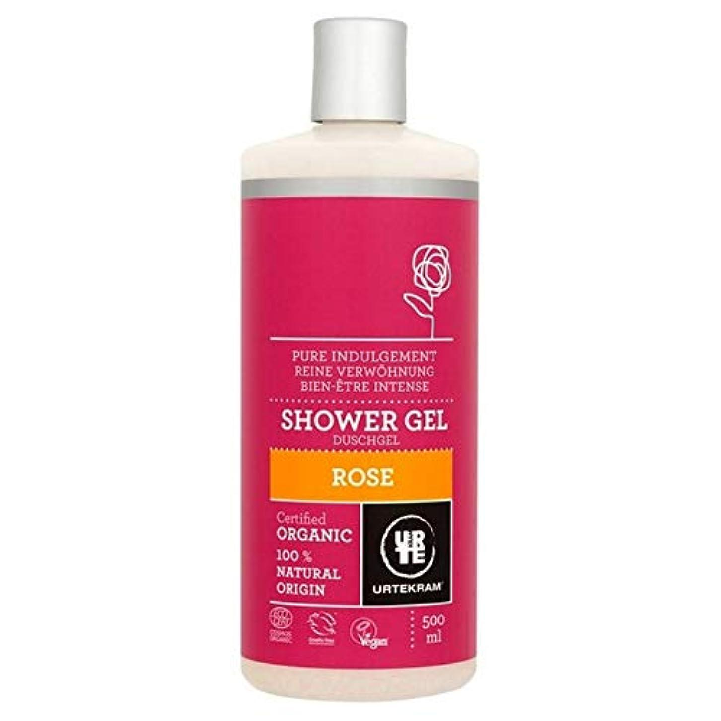 日曜日変更可能頻繁に[Urtekram] Urtekramは、シャワージェル500ミリリットルをバラ - Urtekram Rose Shower Gel 500ml [並行輸入品]