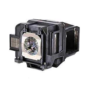 Loutoc V13H010L78 Replacement Lamp Bulb for Epson ELPLP78 EB-S03 EH-TW5100 EH-TW5200 EH-TW570 EB-W12 EB X20 EB-W28 Projector, with housing